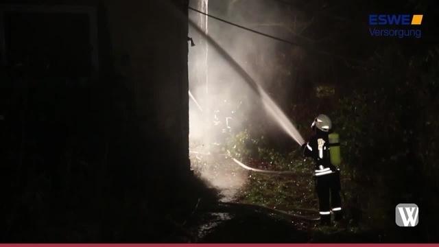 Oestrich-Winkel: Kornsmühle ausgebrannt