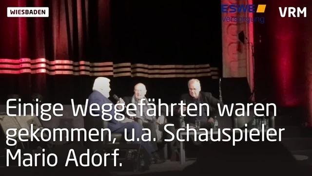 Wiesbaden feiert Volker Schlöndorff