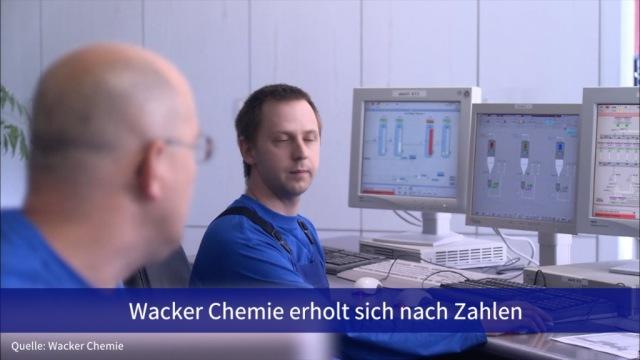 Aktie im Fokus: Wacker Chemie erholt sich nach Zahlen