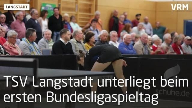 TSV Langstadt verliert erstes Bundesligaspiel
