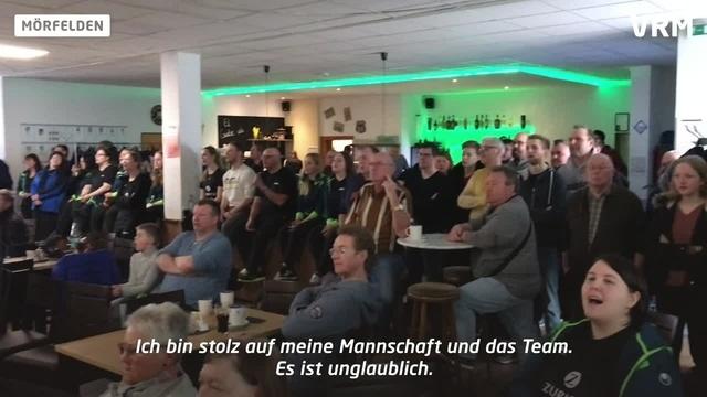 Keglerinnen des KSC Mörfelden kurz vor Titelgewinn