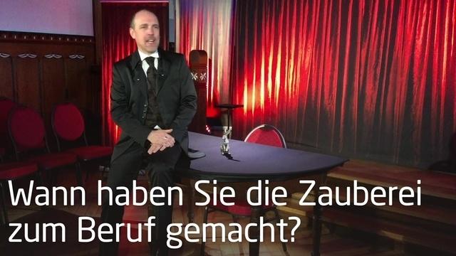 Alexander Mabros im Interview: Die Zauberei als Beruf