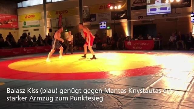 Ringen: ASV Mainz 88 siegt beim Saisonauftakt