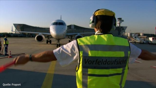 Flugsicherheitspersonal: Warnstreiks sind vom Tisch