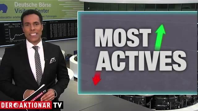 Most Actives: E.ON, Evotec und Steinhoff
