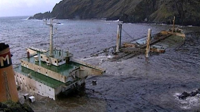 Tankerunglück vor den Shetlands