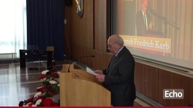 95. Geburtstag des Lampertheimer Ehrenbürgers Heinrich Friedrich Karb