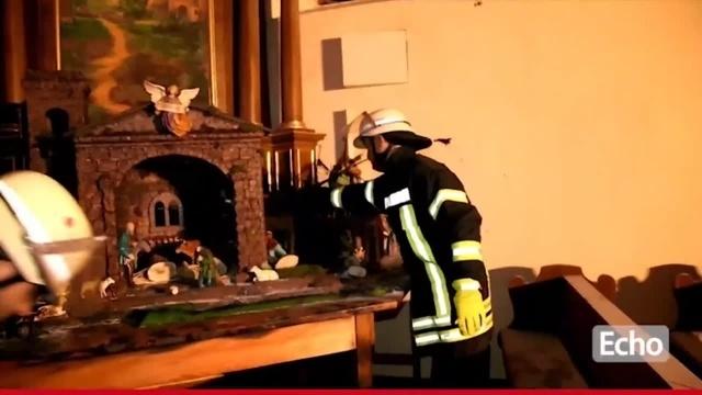 Lindenfels: Feuer in der katholischen Kirche