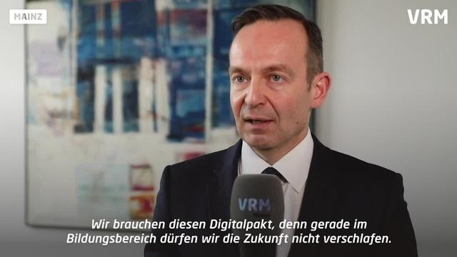 Wirtschaftsminister Wissing zum Digitalpakt