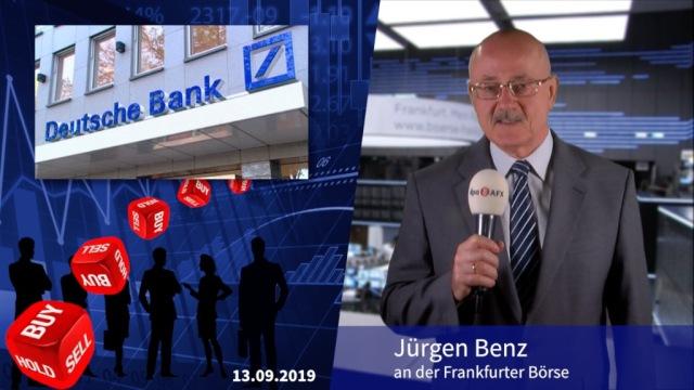 Analyser to go: Neue Verkaufsempfehlung für Deutsche Bank