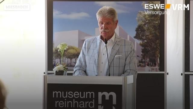 Baustart für Museum Reinhard Ernst