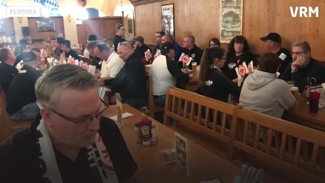 Eintracht-Fans treffen sich in Saint Petersburg