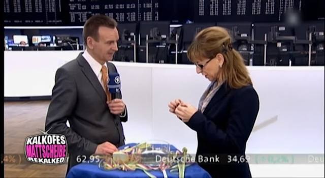 Bleigiessen an der Börse - Das Erste
