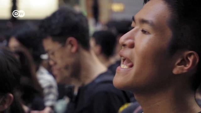 Hongkongs Jugend steht auf