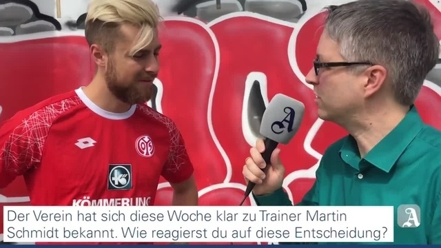 Mainz 05-Innenverteidiger Alexander Hack im Interview