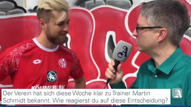 Mainz 05-Innenverteidiger Alexander Hack im Interview