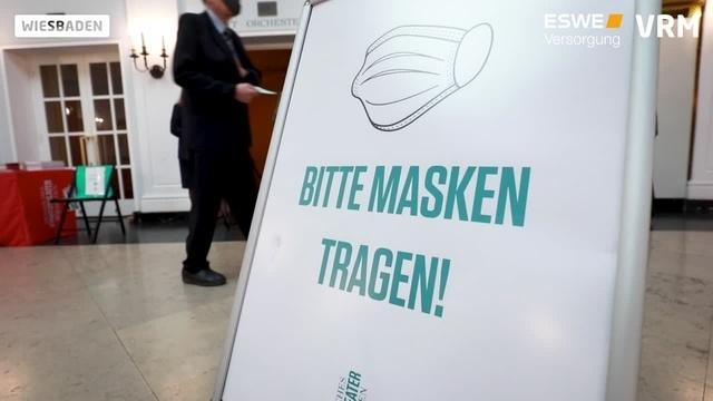Staatstheater Wiesbaden nimmt Betrieb wieder auf