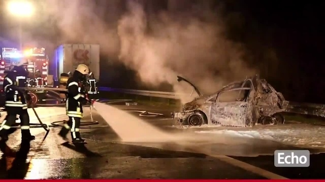 Tödlicher Verkehrsunfall auf der A5 bei Zwingenberg