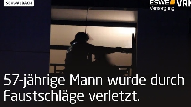 Großeinsatz nach Messerangriff in Schwalbach