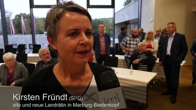 Kirsten Fründt gewinnt Landratswahl im ersten Durchgang