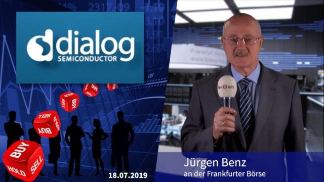 Analyser to go: Trotz Mega-Zahlen Dialog Semiconductor herabgestuft