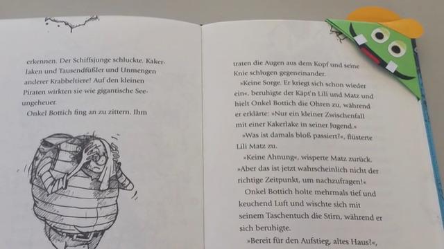 Mach mit: Kruschel-Lesezeichen
