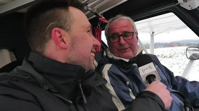 Über den Wolken: Bürgermeister Heine im Interview
