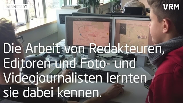 Girls und Boys Day in der ECHO Redaktion
