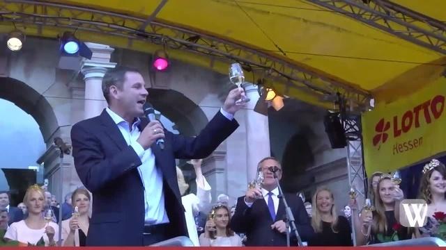 Eröffnung der 42. Rheingauer Weinwoche in Wiesbaden