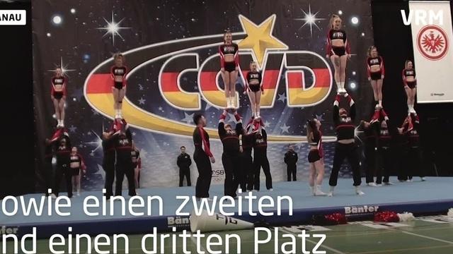 Pfungstädter Cheerleader erfolgreich bei Meisterschaft