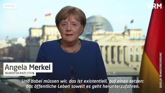 Coronakrise: Umfrage zur Merkel-Ansprache