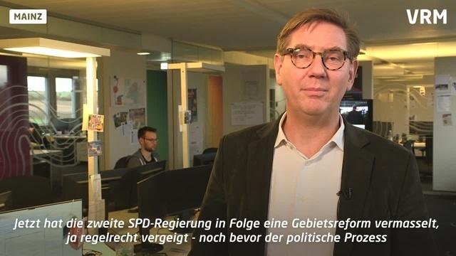 Roeinghs Ratschlag zur Gebietsreform