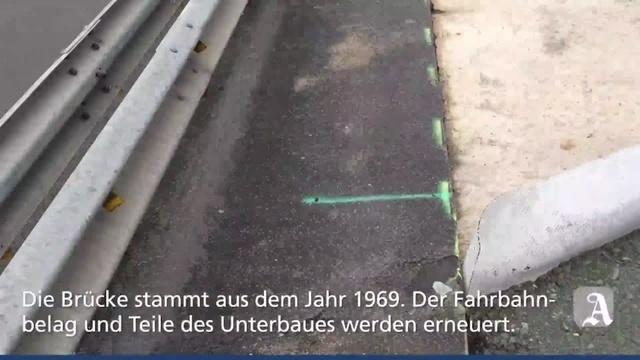 Mainz-Bingen: Engpass auf der B9 bei Bodenheim