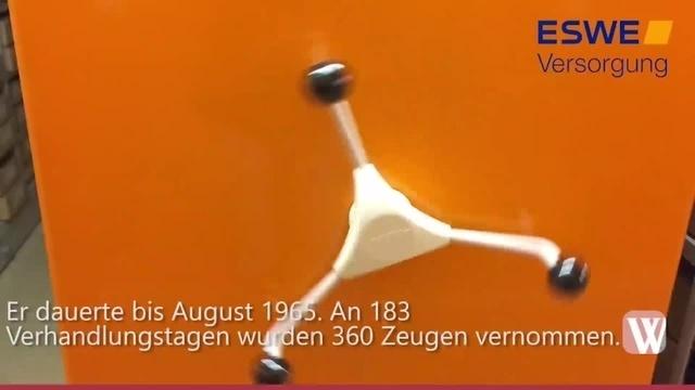 Akten des 1. Auschwitz-Prozesses lagern in Wiesbaden