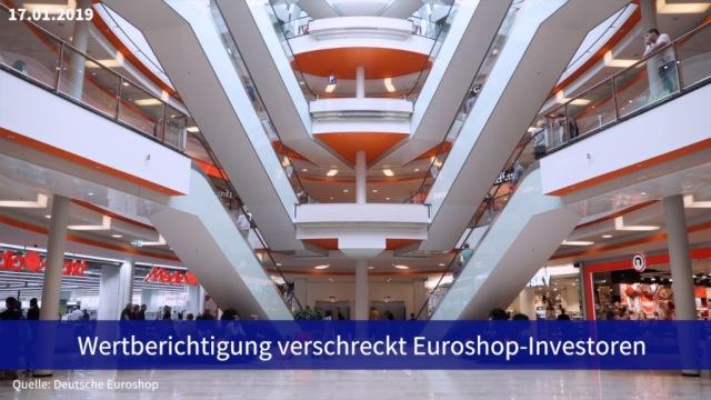 Aktie im Fokus: Wertberichtigungen verschrecken Anleger von Deutscher Euroshop