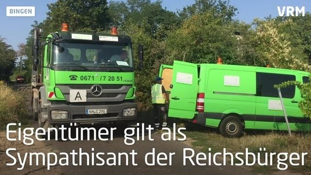 Illegale Containeranlage in Bingen wird geräumt