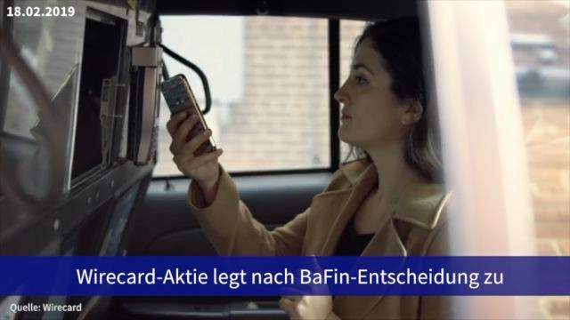 Aktie im Fokus: Wirecard legt nach BaFin-Entscheidung zu