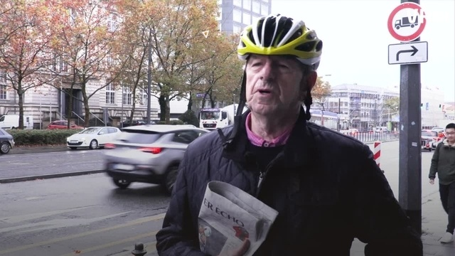 Outtake: Der Breeweldibbe am neuen Radweg
