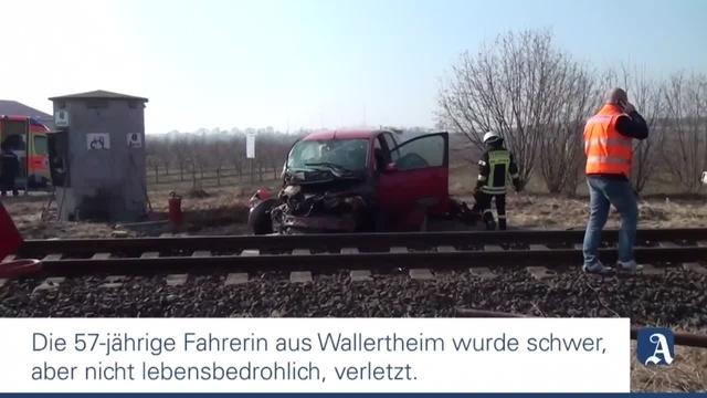 Schwerer Unfall in Wallertheim