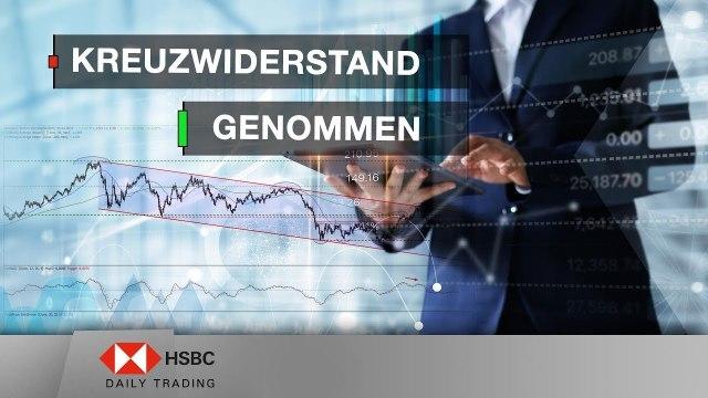 Kreuzwiderstand genommen - HSBC Daily Trading TV vom 30.04.2019