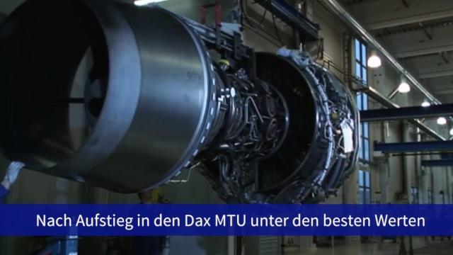 Aktie im Fokus: MTU mischen beim Dax-Debüt vorne mit