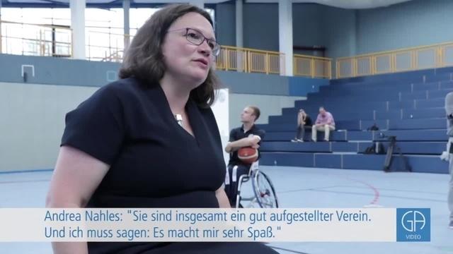 Andrea Nahles besucht RSV Lahn-Dill