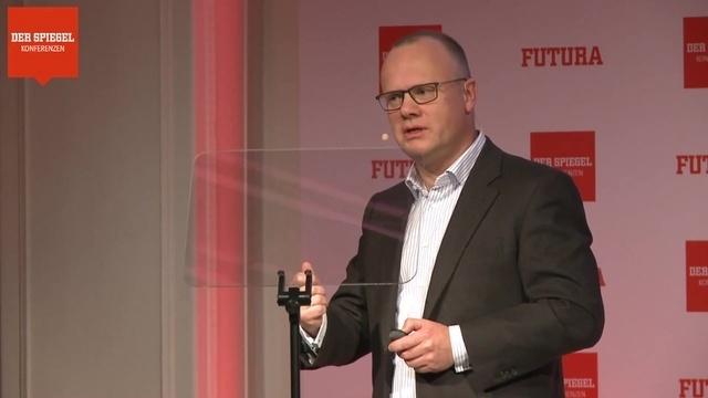 Robert Mayr auf der FUTURA 2018