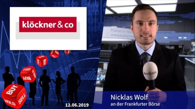 """Analyser to go: Goldman Sachs sieht überverkauften Stahlsektor - """"Buy"""" für Klöckner & Co"""