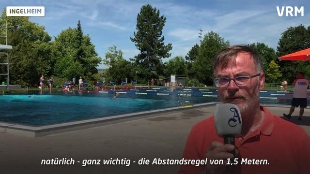 Ingelheim: Regeln für den Freibad-Besuch