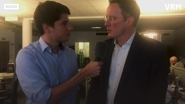 Vor der Stichwahl: OB Michael Ebling im Interview
