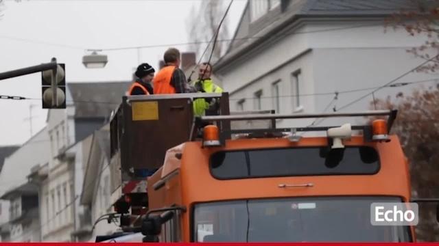 Darmstadt: Straßenbahnverkehr zeitweise lahmgelegt