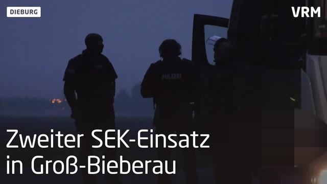SEK-Einsatz in Dieburg und Groß-Bieberau