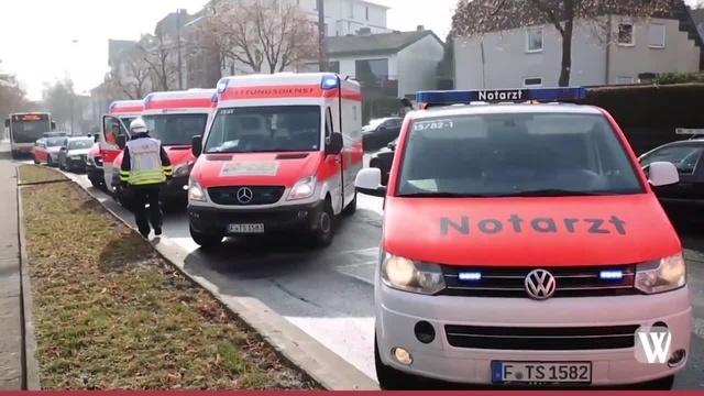 Wiesbaden: Schwerer Unfall auf der Platter Straße
