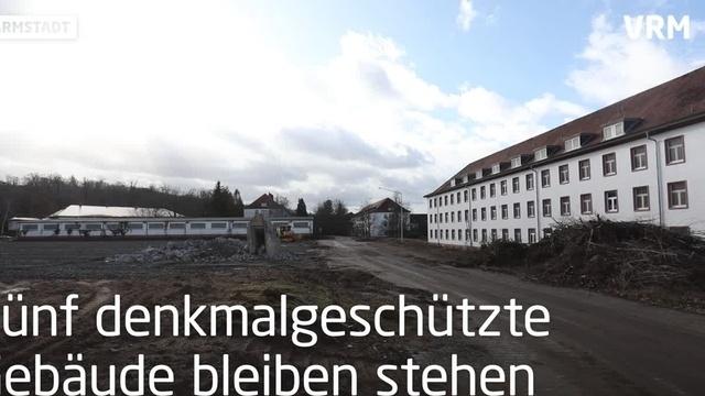 Darmstädter Cambrai-Fritsch-Kaserne wird abgerissen